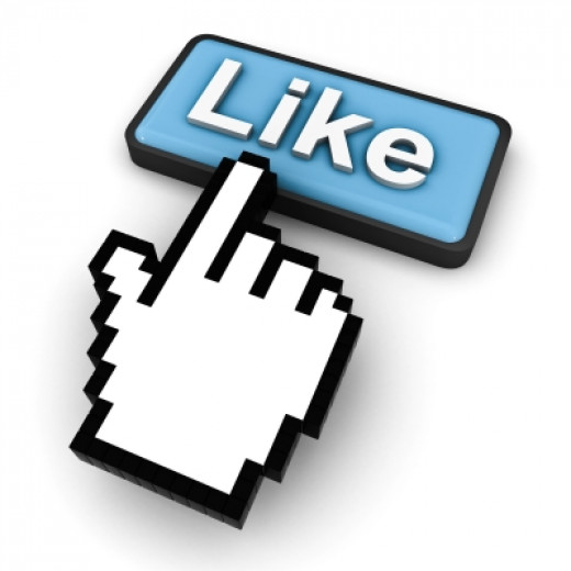 """Like Button Concept"" by Master isolated images courtesy of 'freedigitalphotos.net'"