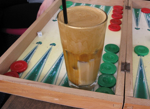 Backgammon and frappe