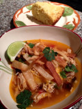 The Best Chicken Tortilla Soup