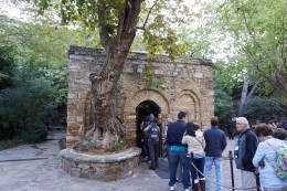 Entrance to the House of the Virgin Mary, Ephesus