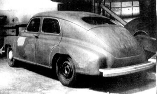 The infamoust GAZ-M20 Pobeda