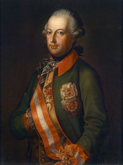 Beside the Kettle War, Joseph II.'s name is also connected to a battle where his army allegedly defeated itself, as well as to inventions like the reusable coffin.