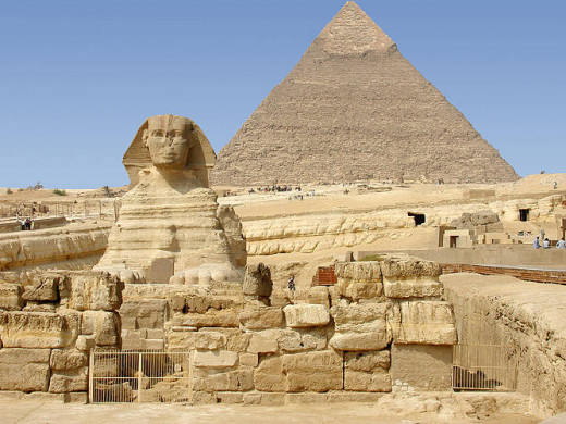 Sphinx in Egypt is the largest monolith statue in the world