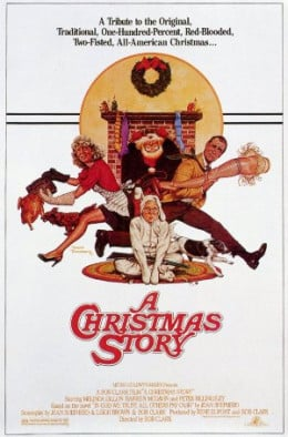Join the tradition! Watch the 24 hour marathon of A Christmas Story that runs from 8pm Christmas Eve till 8pm Christmas Day every year!