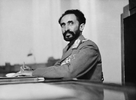 Emperor Haile Selassie, the last emperor of Ethiopia