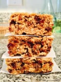 Banana Chocolate Chip Oat Bars
