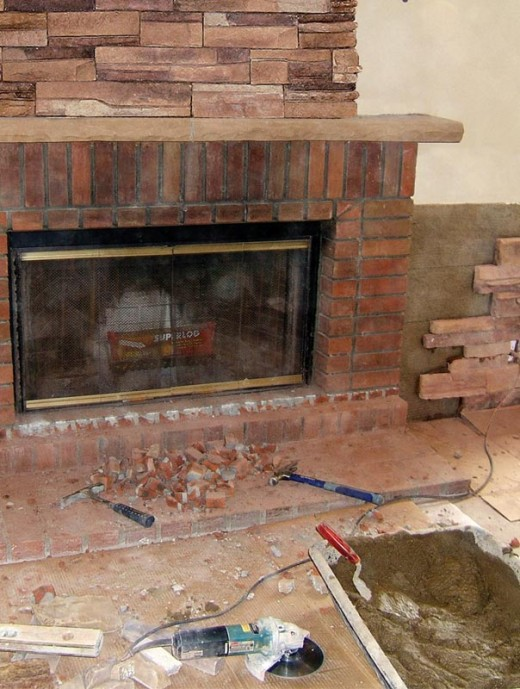 Stone Veneer Fireplace Installation Step 1 - Before You Begin