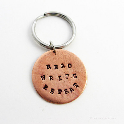 This will remind them of the writer's mantra.