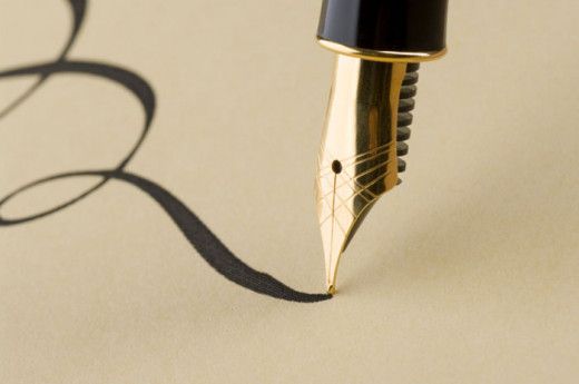 Professional writing pen