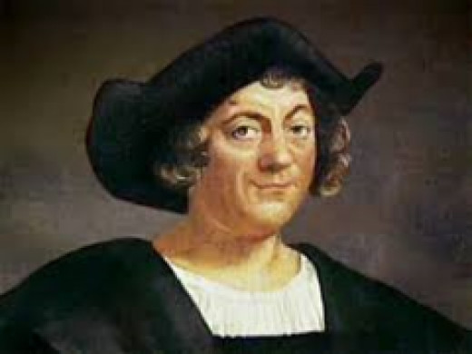 This is a portrait of Christopher Columbus