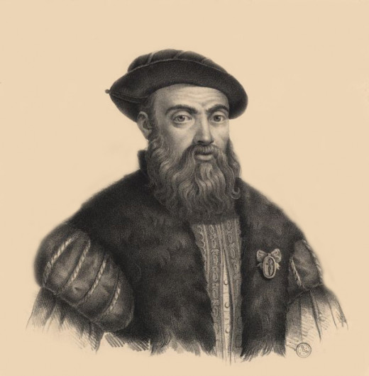 This is a portrait of Ferdinand Magellan