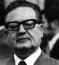 This is a photo of Salvador Allende.
