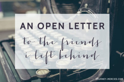 An Open Letter to Those No Longer in My Life