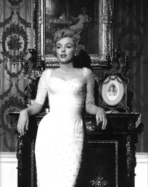 Marilyn Monroe Promotional photograph for the 1957 film The Prince and the Showgirl