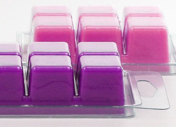 This is what wax melts/candle melts/candle tarts will look like.  Again, sold at Michael's or other craft stores for about $3.