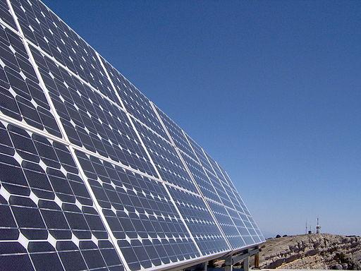 Solar panels produce intermittent energy