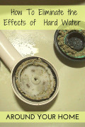 How to Manage the Effects of Hard Water around the Home