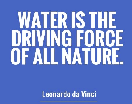 Water is the Hub of Life - as we know it