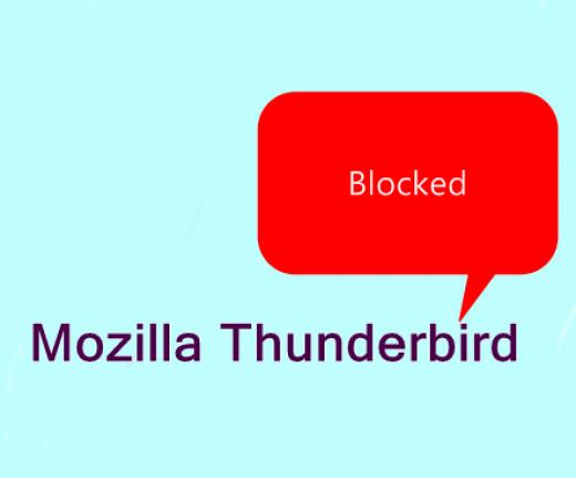 mozilla thunderbird email service