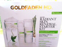Holiday gift of beauty: Goldfaden MD Radiant Skin Renewal Starter Kit