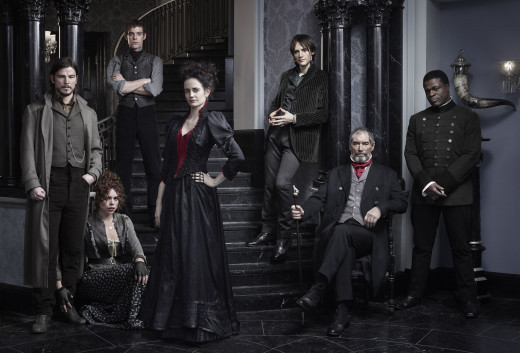 Cast Shot From Penny Dreadful