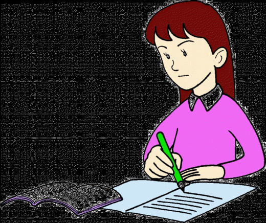 Letter - Writing in Examination