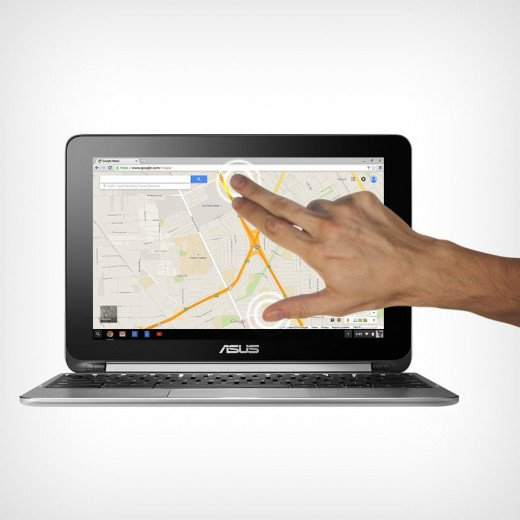 Asus Flip Touchscreen Chromebook