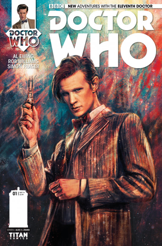 Eleventh Doctor Issue 1 Cover
