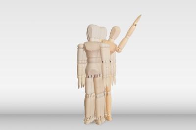 """""""Wooden Model In The Crowd"""" by basketman, courtesy of freedigitalphotos.net"""