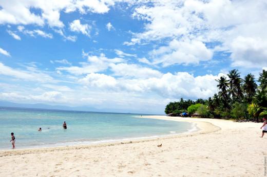 Lambug Public Beach
