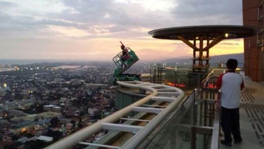 Sky Lounge ride in Cebu City
