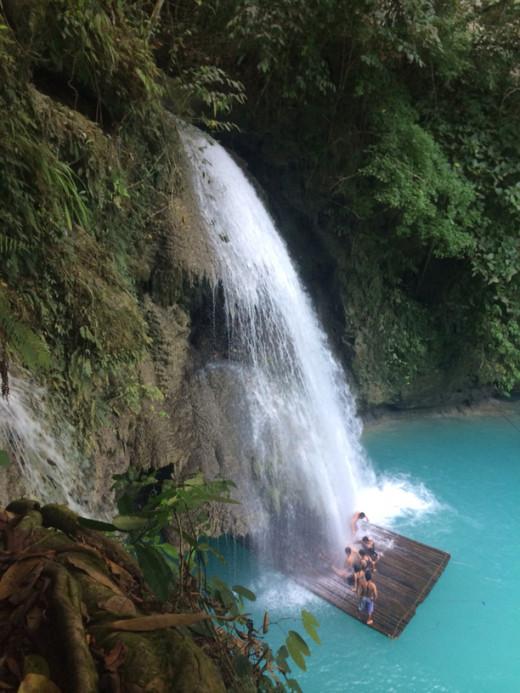 Kawasan Falls and raft