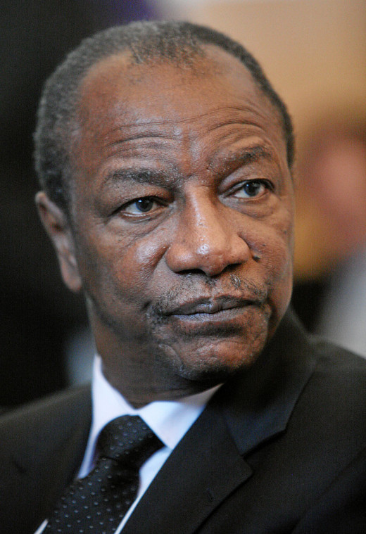 Alpha Conde, the current President of Guinea-Conakry