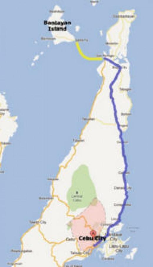 From Cebu City to paradise