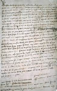 Queen Catherine Howard's Letter to Thomas Culpeper.
