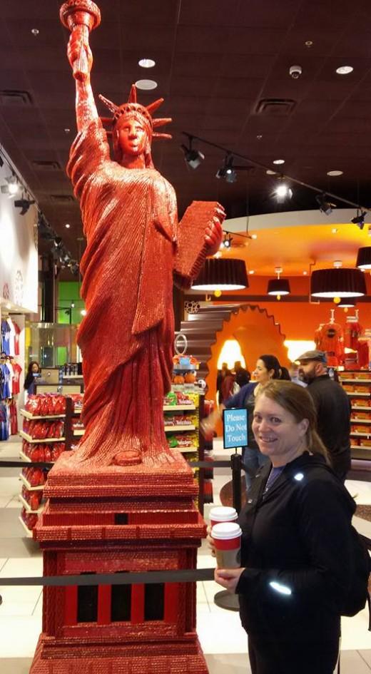 The Hershey Store at New York, New York