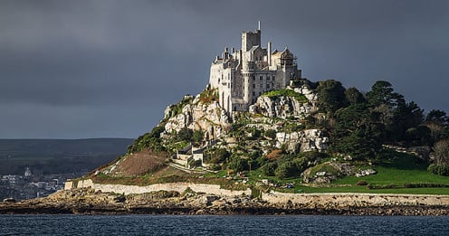 St. Michael's Mount at Marazion in Cornwall.