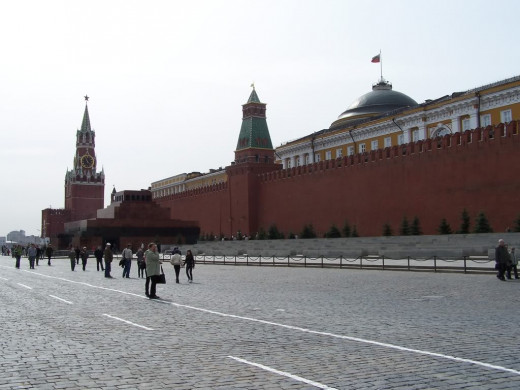 Kremlin - Seat Of Russian Power.