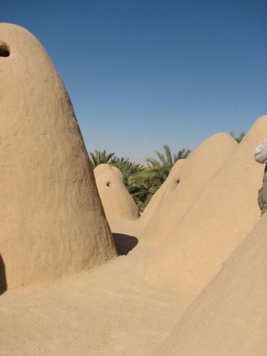 Atiq Mosque in Libya