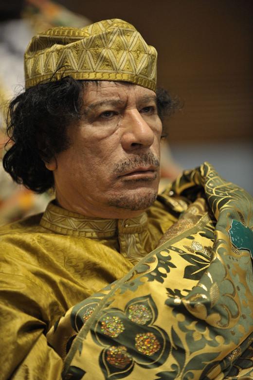 Libyan dictator , Muammar Gaddafi (Late)
