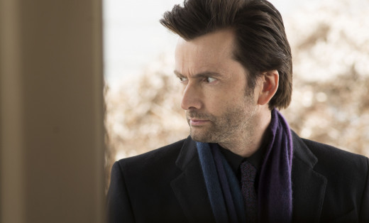 David Tennant as Kilgrave, known otherwise in the comics as the Purple Man