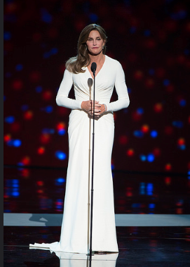 "Some folks thought the ESPY made sense since Caitlyn was an Olympian. But some people thought ""Woman of the Year"" was offensive since she hadn't even been a woman for a year!"
