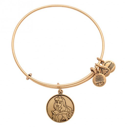 Aurora Alex and Ani Bangle from Disneyland (can be purchased online)