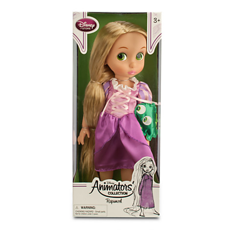 Disney Animator Rapunzel Doll from the Disney store.