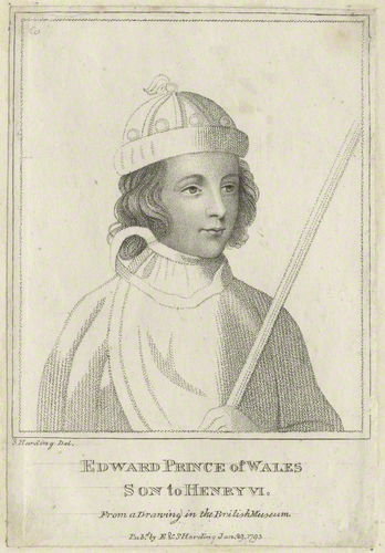 Edward, Prince of Wales (the son of Margaret of Anjou).