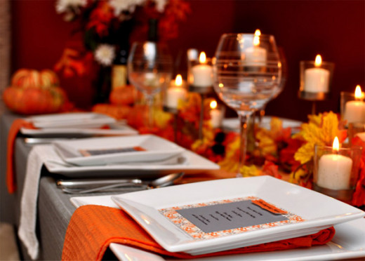 Give thanks through thank you dinner notes