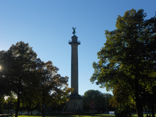The Waterloo Column | The Red Thread | Hannover, Germany