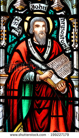 """St. John Chrysostom (c. 347–407), said that, """"This is the rule of most perfect Christianity, its most exact definition, its highest point, namely, the seeking of the common good . . . for nothing can so make a person an imitator of Christ as cari"""