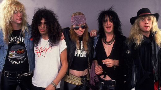 Guns N' Roses In 1988
