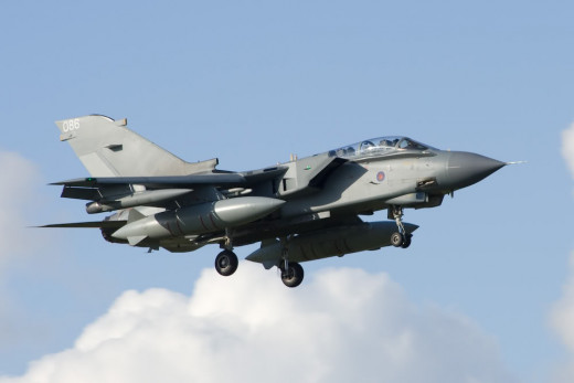 Tornado Plane Which Could Be Swooping Into Action Over Syria If David Cameron Gets His Way.